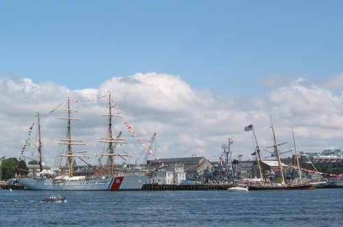 View of Charlestown Navy Yard