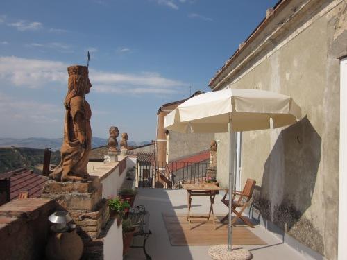 Terrace view of Palazzo Rinaldi