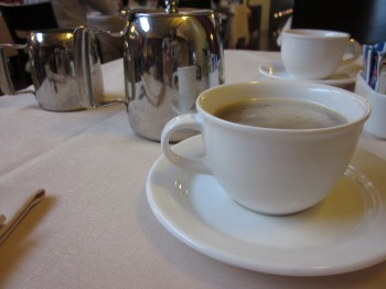 Coffee the morning of my 30th birthday, Milan