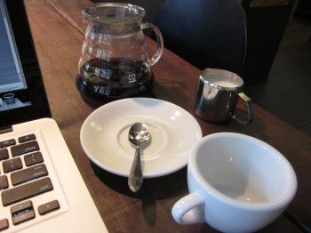 Filter coffee in Delft (I tried it. Didn't love it.)
