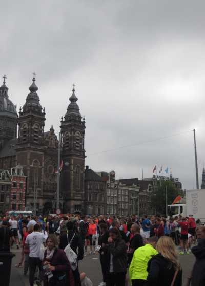 Amsterdam pre-race