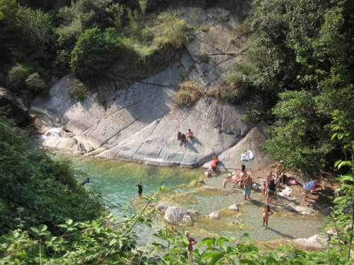 Natural Pools at Rochetta Nervina