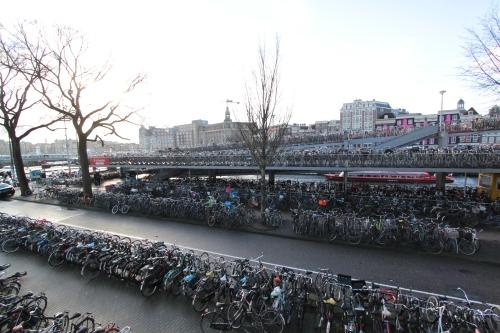Amsterdam, near the main train station