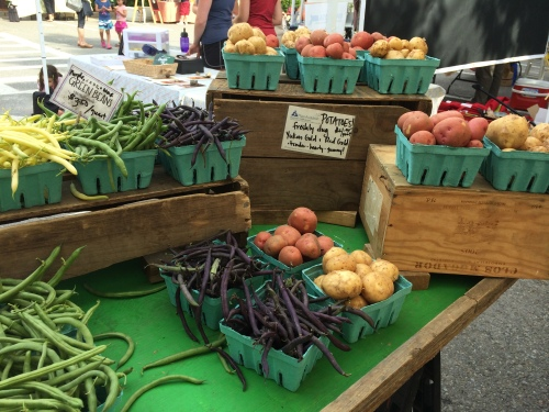 Produce at the Watertown Farmers' Market